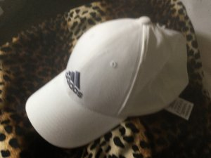 Nike Gorra de béisbol blanco-negro