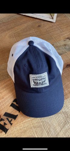 Levi's Baseball Cap white-dark blue