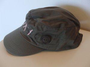 Basecap von ROXY - khaki mit rosa Schriftzug