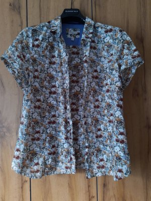 Basefield Short Sleeved Blouse multicolored cotton