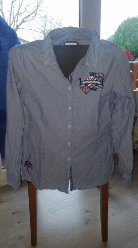 Basefield Długa bluzka błękitny