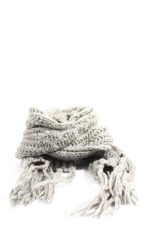 Basefield Fringed Scarf light grey casual look