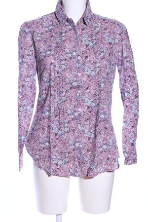 Basefield Hemd-Bluse Blumenmuster Casual-Look