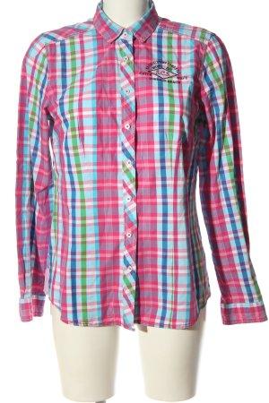 Basefield Houthakkershemd geruite print casual uitstraling