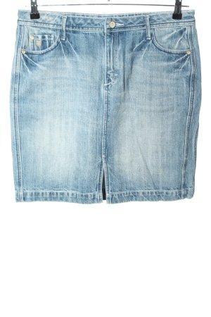 Basefield Gonna di jeans blu stile casual
