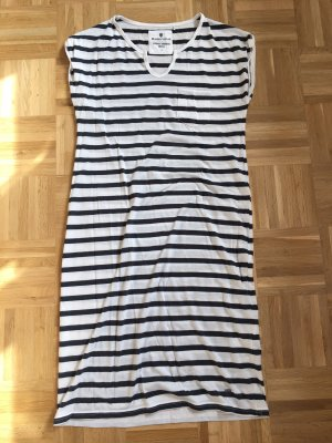 Basefield Shirt Dress white-dark blue