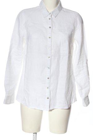 Basefield Camicia a maniche lunghe bianco stile professionale