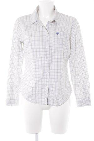 Basefield Shirt met lange mouwen geruite print zakelijke stijl