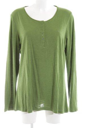 Basefield Longsleeve grün Casual-Look