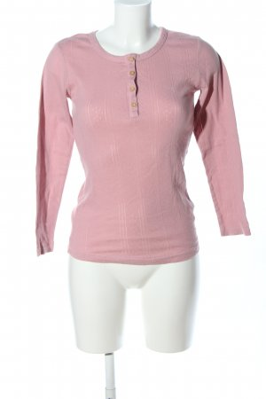 Basefield Longesleeve roze casual uitstraling