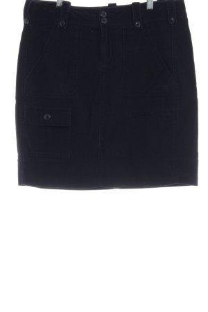 Basefield Mini rok donkerblauw casual uitstraling