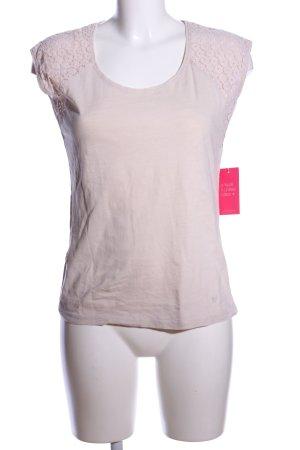 Basefield T-Shirt wollweiß Casual-Look