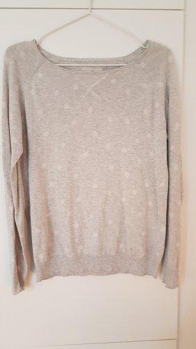 Basefield Bluza dresowa biały-jasnoszary