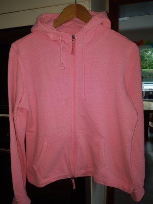 Basefield Felpa con cappuccio rosa