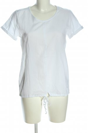 Basefield T-shirt wit casual uitstraling