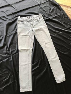 Timezone Jeans a sigaretta argento