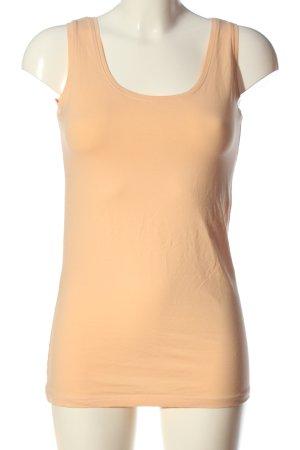 Basic Camisole orange clair style décontracté