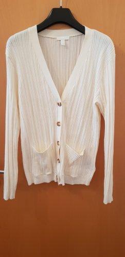 Basic Cardigan Weiß H&M