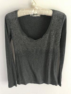 Basic Deluxe Shirt mit Steinen