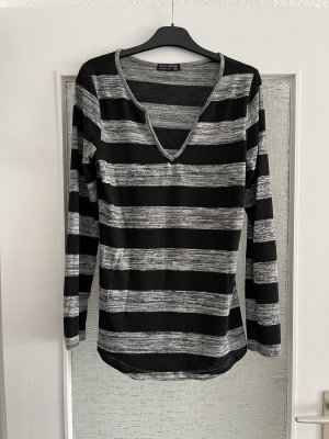 Blind Date Long Sweater black-grey