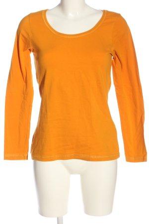 Basic for everyday Longsleeve light orange casual look