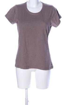 T-Shirt bronzefarben meliert Casual-Look