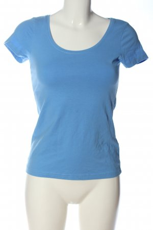Basic for everyday T-Shirt blau Casual-Look