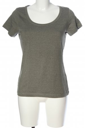 Basic for everyday T-Shirt hellgrau meliert Casual-Look