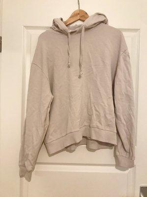 Basic Hoodie Pullover beige-grau NA-KD