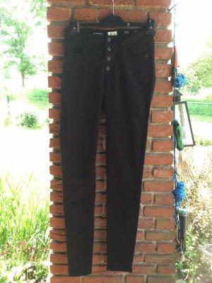 QS by s.Oliver Jeans slim noir coton