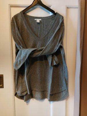 Basic Khakifarbener Pullover