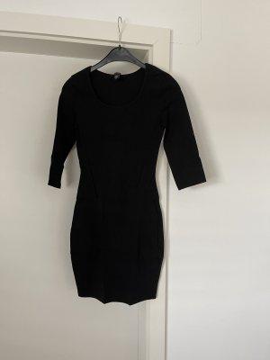 Amisu Mini-jurk zwart
