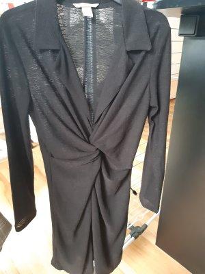 Basic Kleid mit Knotendetail Damen