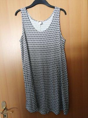 Basic Kleid mit Muster