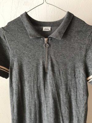 Basic Kleid mit Reißverschluss
