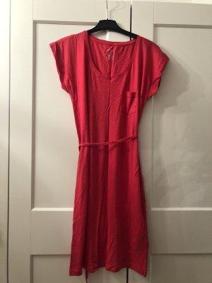Basic Kleid pink