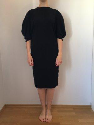Basic Kleid zara schwarz
