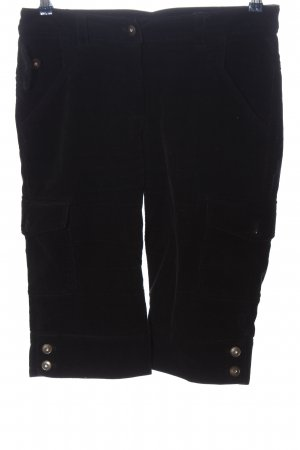 Basic Line 3/4 Length Trousers black casual look