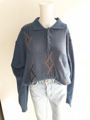 Basic Line Oversized Sweater multicolored