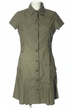 Basic Line Cargo Dress khaki casual look