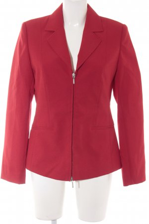 Basic Line Kurz-Blazer rot Casual-Look