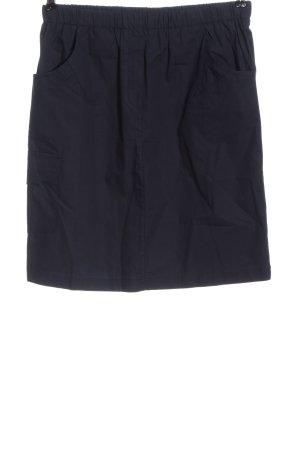 Basic Line Mini rok blauw casual uitstraling