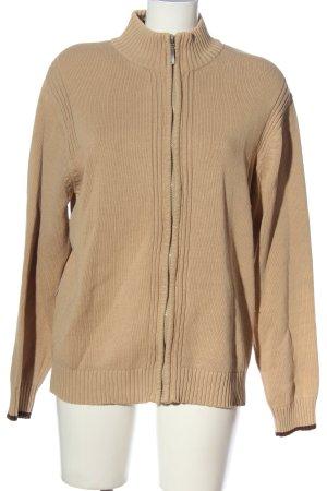 Basic Line Turtleneck Sweater nude casual look