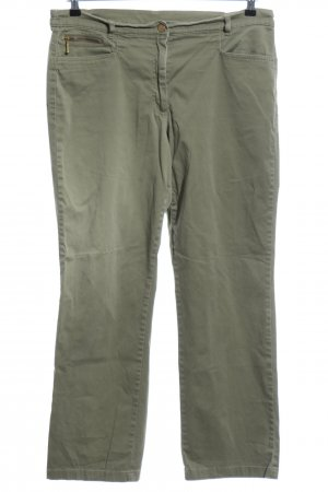 Basic Line Stoffhose khaki Casual-Look