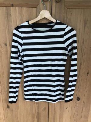 Athmosphere Koszulka z długim rękawem biały-czarny