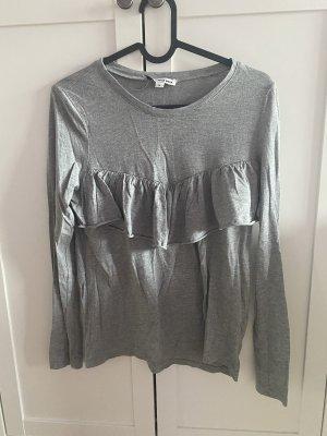 Tally Weijl Basic Shirt light grey