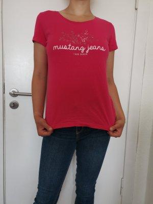 Mustang T-shirt różowy