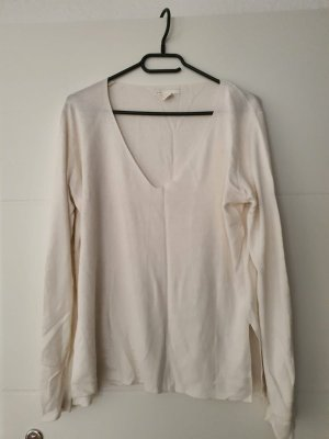 Basic pullover weiss