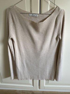 Basic Pullover Zara Rückenausschnitt
