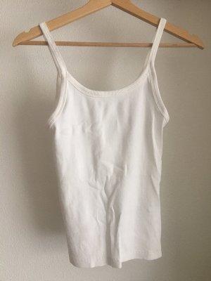 basic ripped shirt in weiß von h&m